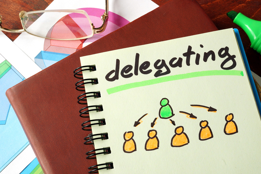 Time Management - Delegating work